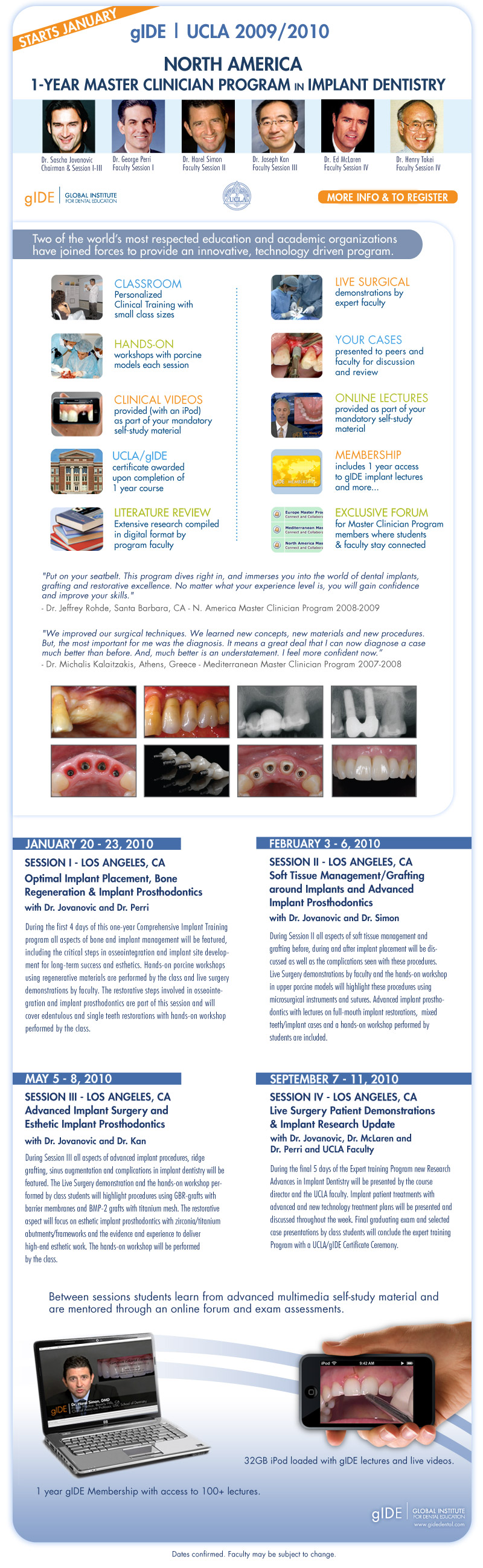 gIDE 1-Year Master Clinician Program in Implant Dentistry